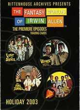 L@@K -->  RITTENHOUSE FANTASY WORLDS OF IRWIN ALLEN PROMO CARD P1