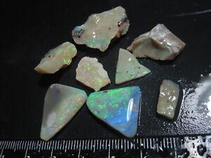 Lightning Ridge Opal 43 cts Rough Rubs J 294