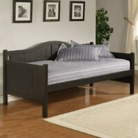 Hillsdale Staci Wood Daybed in Black Finish