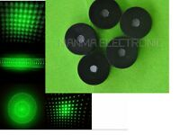 5 Star Caps w/ 5 Patterns Grating Lense for Laser Pointer Torch-Style