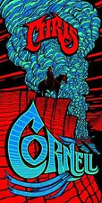 Chris Cornell Soundgarden Tour Poster Sticker or Magnet