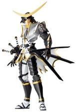 ya08107 Revoltech No.079EX Sengoku Basara Date Masamune Figure White ver.