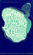 DEAD MINT John Lee Hooker Blues Project 1967 BG 49 Fillmore Poster