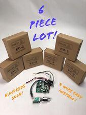 "6 Piece Dealer Lot CB Echo Board ECHO IC for CB HAM RADIO 2"" x 2"" SIZE Delta EC2"