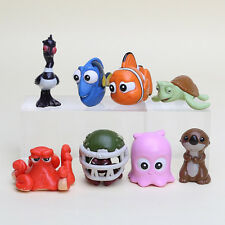 8pcs Disney Finding Nemo Dory Mini Figuriness PVC Action Figure Kid Cake Topper