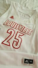 Price 2012-13 Louisville Cardinals Game Worn WHITE OUT Basketball Jersey & Short