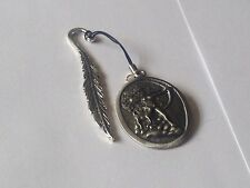 Diana Goddess code dr88  Made From English Pewter On A FEATHER Bookmark
