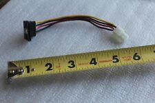 SATA Serial HDD Hard Drive Power Connector (4pin Molex) Cable 5inch - US ship