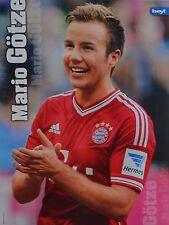 MARIO GÖTZE - A4 Poster (ca. 21 x 28 cm) - Fußball Clippings Fan Sammlung NEU