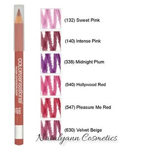 Maybelline Color Sensational / Superstay  Lip Liner - Choose Shade - FREE POST