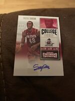 2016-17 Panini Contenders Pascal Siakam Autograph Rookie Siakam Rookie Auto RC