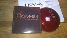 CD Metal Dommin - My Heart, Your Hands (1 Song) Promo ROADRUNNER cb Presskit