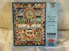 The Twelve Days of Christmas Tailten Games 1000 Piece Jigsaw Puzzle TG 351