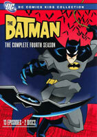 The Batman: The Complete Fourth Season (Season 4) (2 Disc) DVD NEW