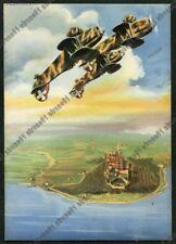 AVIATION AVIAZIONE 116 ARMA  AERONAUTICA AEREO - FRASE MUSSOLINI Cartolina