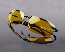 Men's HD Night Vision Driving Glasses Aviator UV400 Sunglasses Polarized Eyewear