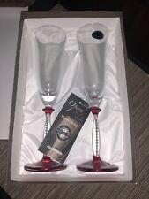 Opera Italia WINE GLASSES By Franco Dolce. HANDMADE IN ITALY! BRAND NEW IN BOX!
