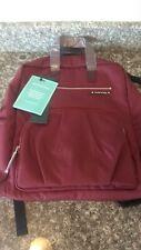 Diaper Bag Backpack by Kute 'n' Koo - Designer Diaper Bag (Burgundy)