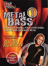 """""""THE ROCK HOUSE METHOD VOLUME ONE-1"""" METAL BASS DVD BRAND NEW SEALED ON SALE!!"""
