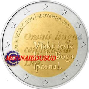2 Euro Commémorative Slovénie 2020 - Adam Bohoric UNC NEUVE