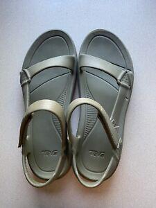 Teva's Hurricane Drift Sandals Men's size 13 Army Green Rubber Sandals