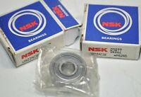 Lot of 2 NEW NSK New Single Row Ball Bearings Part# 628ZZ