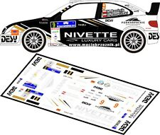 DECALS 1/43 CITROËN XSARA WRC - #9 - RZEZNIK - RALLYE BARBORKA 2011 - D43101