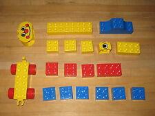 Lego Duplo 2344 Circus Basic Building Set 19 pieces Complete 1987 1989 preschool