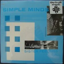 SIMPLE MINDS / SISTER FEELINGS CALL * NEW CUT-OUT VINYL LP 1987 RELEASE * NEU *