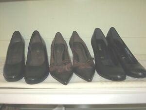 Tolle Damen Schuhe Gr. 4,5 Pumps Paket 3 Paar alle von Gabor 1x ganz Neu Leder