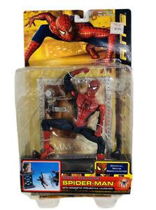 Spider-Man 2 Shoot and Slide Collectible Movie Action Figure Toybiz Marvel 2004