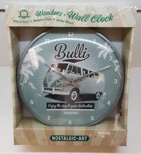 VW Bulli - Think Tall Wanduhr Nostalgic Art Uhr 31 cm Retro Bulli