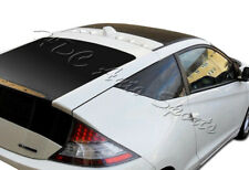 For Honda CRZ CR-Z VG-Style ABS Black Rear Roof Shark Fin Cover Spoiler Wing 2DR