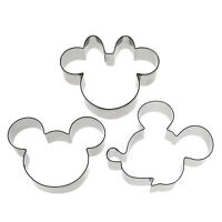 Mickey Minnie Mouse Emporte-pièces Biscuit Coupeur Cookie Cutter