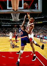 Scottie Pippen Photo Print Poster 8.5 by 11 inches High Quality Ewing Dunk