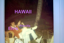 ELVIS PRESLEY PRISCILLA HAWAII 1968 ORIGINAL VINTAGE OLD KODAK PHOTO CANDID