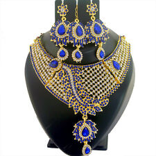 Indian Jewelry Ethnic Necklace Bollywood Traditional New Gold Fashion Set Q 1