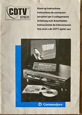 Cdtv Interactive Multimédia - Manuelle, Cdtv , Amiga, Commodore #