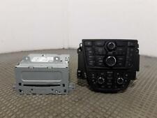 2012 Vauxhall Astra J MK6 2010 To 2015 Radio CD Player 22924493