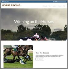 HORSE BETTING Website Earn £9.51 A SALE|FREE Domain|FREE Hosting|FREE Traffic