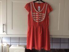 Ladies new size 16 red polka dot knee length lightweight summer dress.