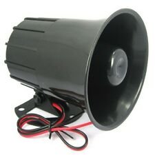 12V 110db Buzzer Speaker Wired Alarm Siren Horn For Car and Home Security System