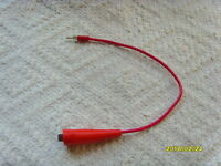 TV-7/U Hickok 532 533 539A/B/C 600 750 752 tube tester clamp test lead cable