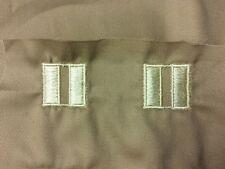 WWII Cloth Captain Ranks - Pair