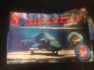Amt Airwolf Helicopter 1/48