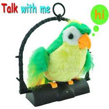 Parlando PAPPAGALLO giocattolo-ripete / immitates ciò che lei parla o dire regalo di Natale