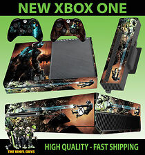 Adesivo console XBOX ONE DEAD SPACE 2 Isaac Clarke necromorph Skin e 2 Pad Pelle