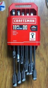 Craftsman 11pc MM 12pt Ratcheting Wrench Set CMMT87021 BRAND NEW