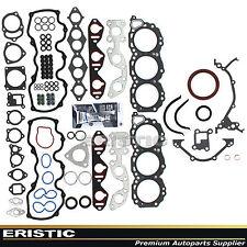 Full Gasket Set Fit 96-04 Nissan Frontier Quest Xterra Pathfinder 3.3L VG33E QX4