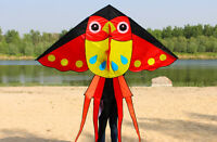 NEW 2m Owl Kite long tail stunt delta Outdoor fun Sports Toys single line kites